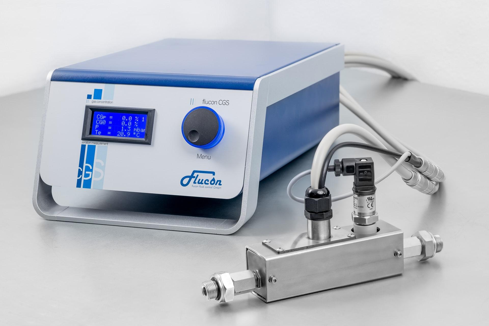 Aeration Meter CGS | flucon GmbH