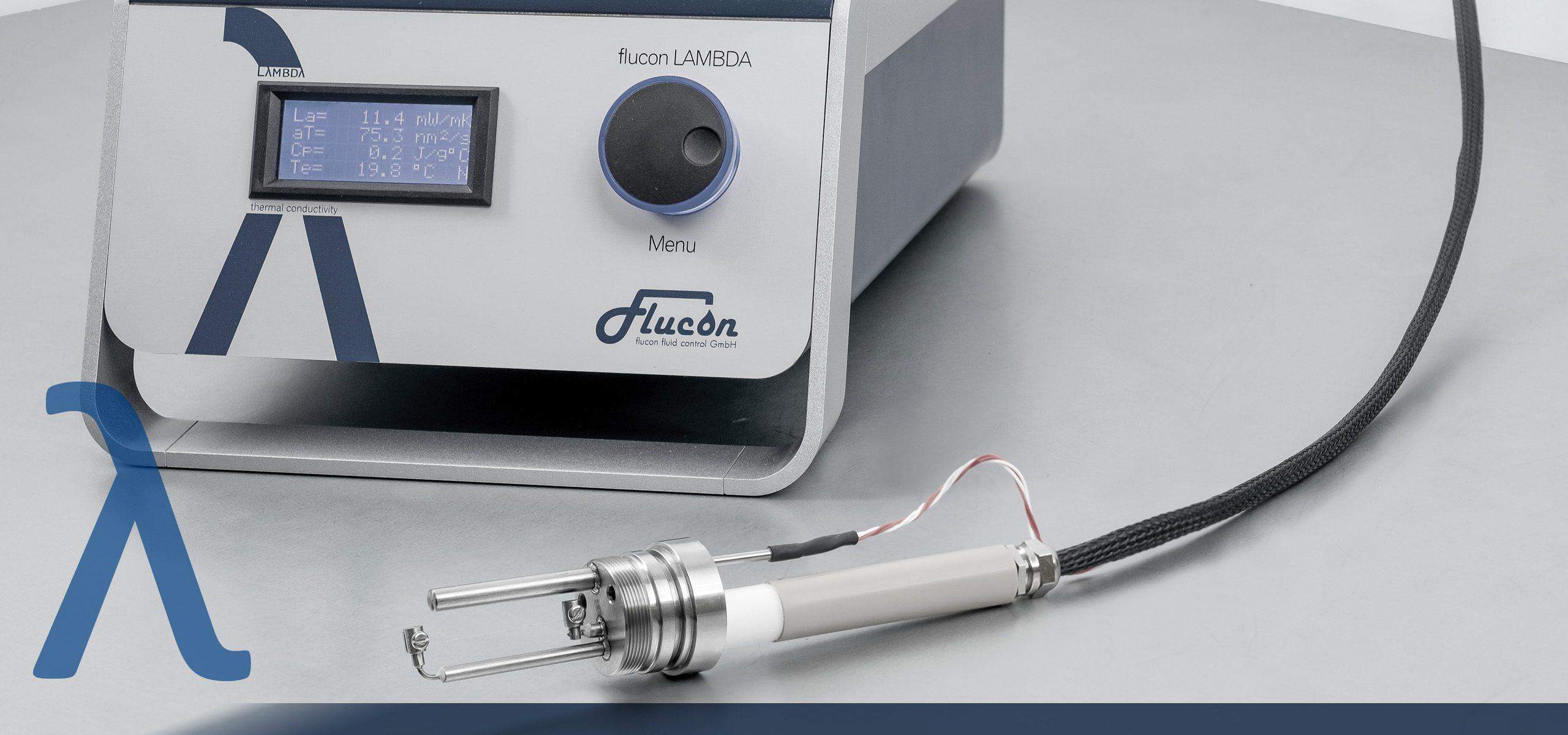 LAMBDA thermal conductivity meter